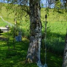 Nice swing in someone's garden